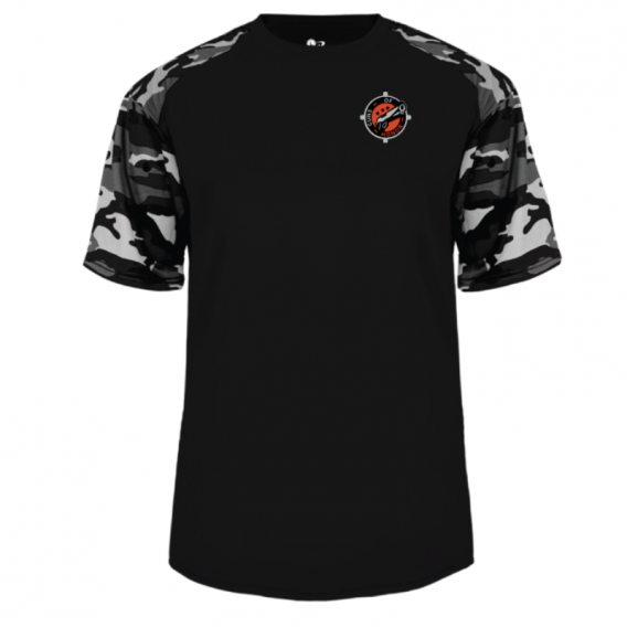 Black-White Camo T-Shirt