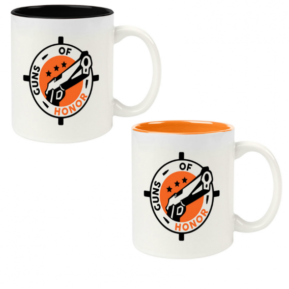 Black and Orange Mug