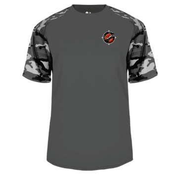 Graphite-White Camo T-Shirt